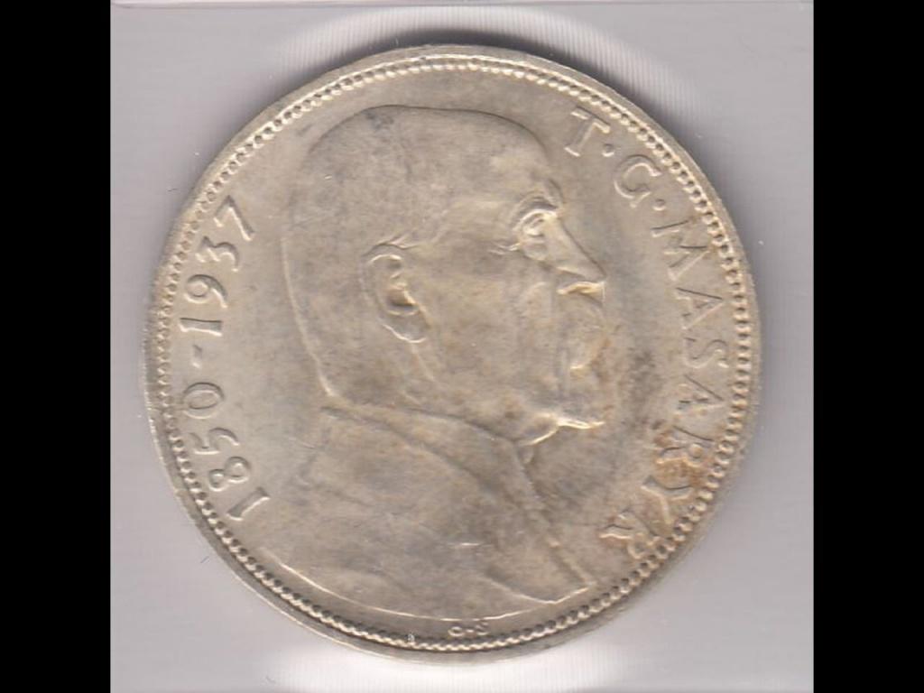 20 korun 1937 Ag 0/0 pamětní
